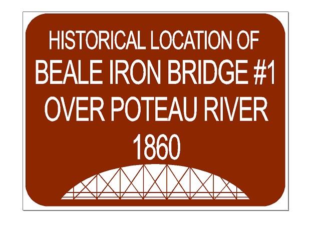 Beale bridges 1859